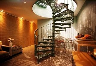 Scale a chiocciola scale a giorno scale prefabbricate - Scale prefabbricate in legno ...